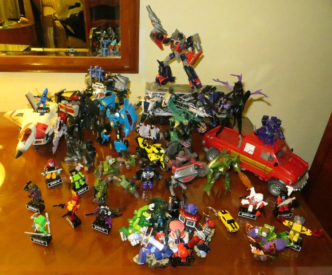 Toy Blast Update : Griffin s transformers collection update