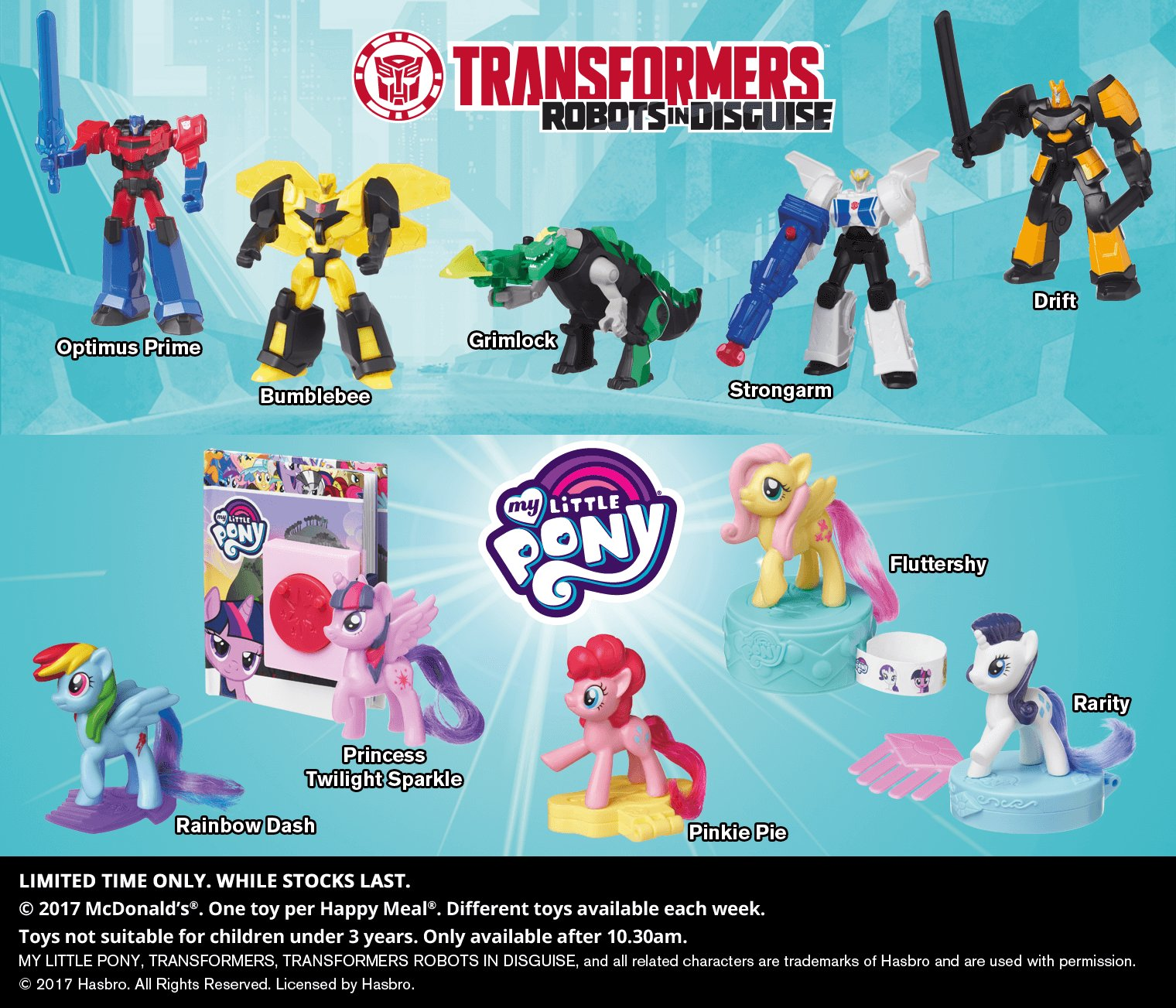 McDonalds Happy Meal Transformers toys - Ozformers ...