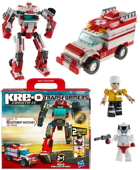 Toy review kre-o wave 1 ozformers transformers club of.