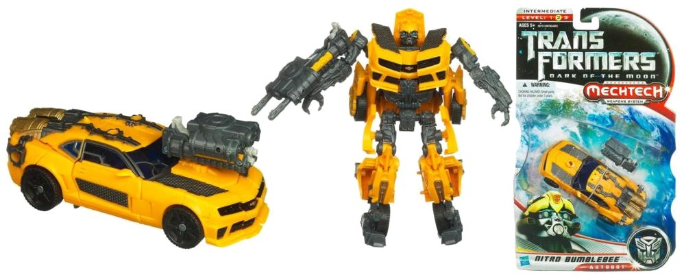 Toy Review - DotM Deluxe Nitro Bumblebee - Ozformers ...