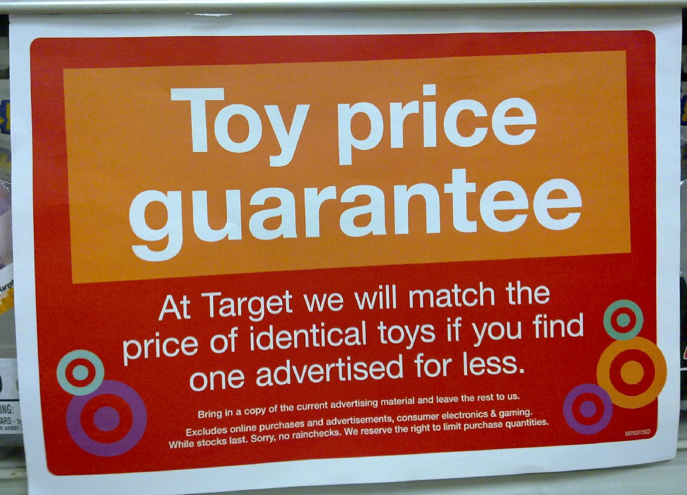 target dating policy